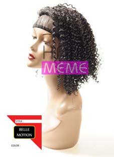 Belle Motion Synthetic Half Wig Girl Water Curl