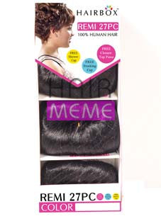 Hair Box HH 27pcs Remi 100% Human Hair