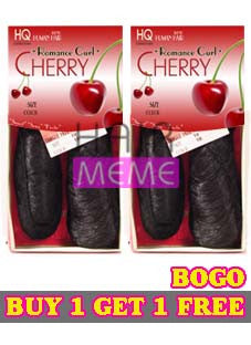 HQ Romance Curl Cherry Human Hair Blend Weave