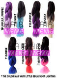 Superline Collection 100% Kanekalon Ombre Braid