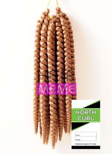 North Curl Skinny Twist Short Pre-looped Crochet Braid