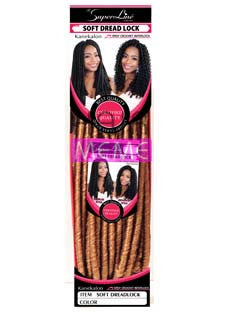Superline Collection Soft Dread Lock Crochet Braid
