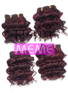 Superline Collection 100% Human Hair Deep Wave 4pcs Weaving