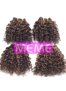 Superline Collection 100% Human Hair Jerry Curl 4pcs Weaving