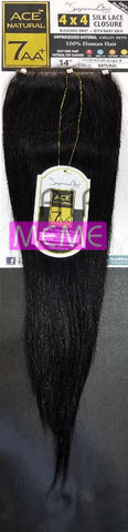 Superline Collection 100% Human Hair 4X4 CLOSURE