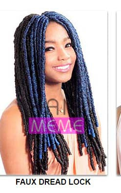Superline Collection Faux Dread Lock 18""