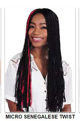 Superline Collection Micro Senegalese Twist