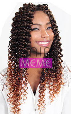 Superline Collection Water Wave Crochet Braid Hair Meme