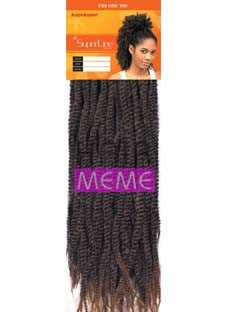 Superline Collection Soul Twist Bulk 18 Crochet Braid