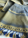 Cotton Handwoven Oyester Stole