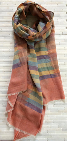 Watercolor Pashmina/Silk Stole