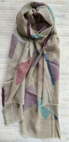 Light Silk Pashmina Stole