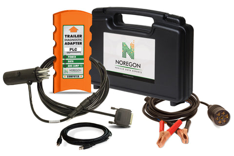 Noregon Trailer Diagnostic Adapter Kit w/ Power Cable
