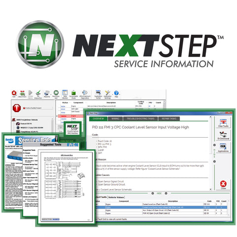 NextStep™ Service Information Module (Annual Subscription)