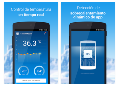 app for warm cell phone