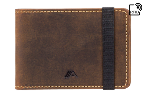 Raw Tan Leather Wallet