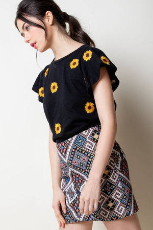 The Sunflower Top - Jori & June