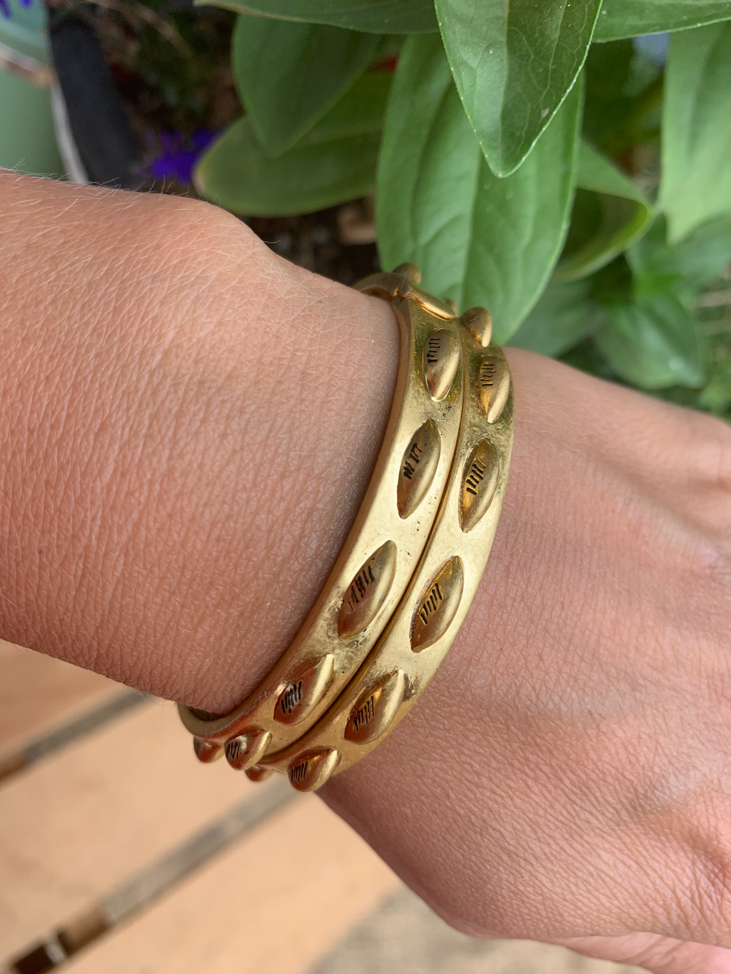 Vintage Gold Bangles - Jori & June
