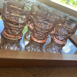 Vintage Blush Glassware - Jori & June