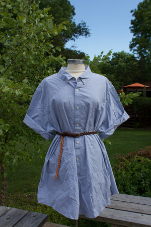 Vintage Oversized Button Up Dress - Jori & June