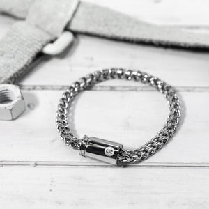 Quattro Plated Stainless Steal Bracelet by Brass & Unity - Jori & June