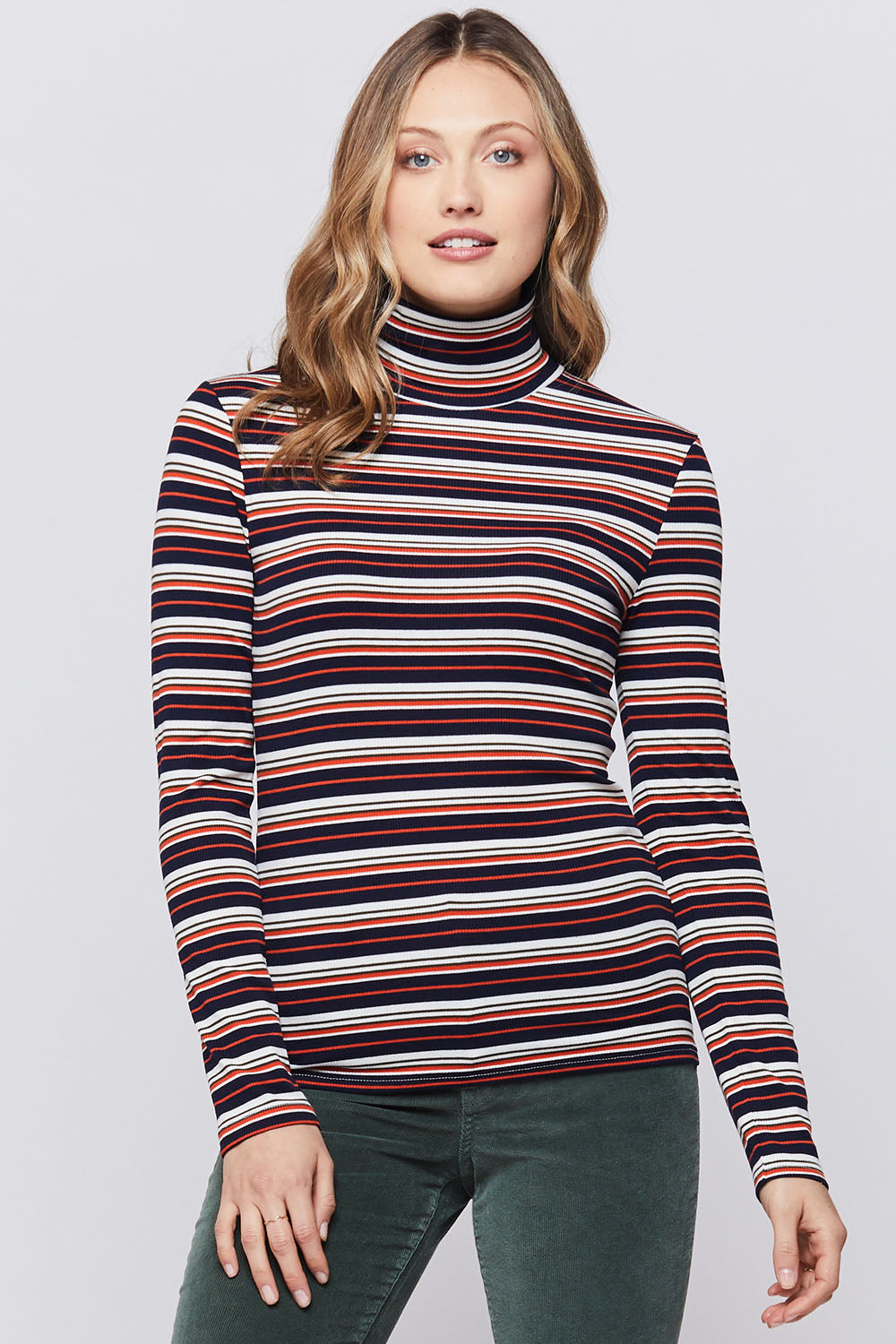 Sadona Ribbed Turtleneck - Jori & June