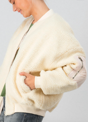 Sherpa Fleece Teddy Coat - Jori & June