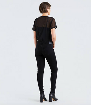 Levi's 711 Skinny - Black - Jori & June