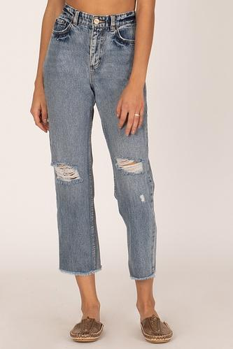 Selena Pant - Worn Wash - Jori & June