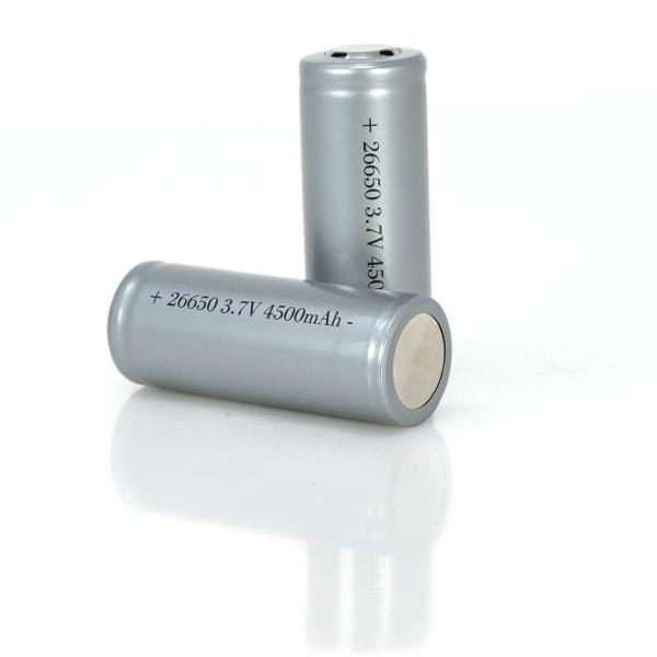 Pair of 26-650 4500 mAH Rechargeable Batteries