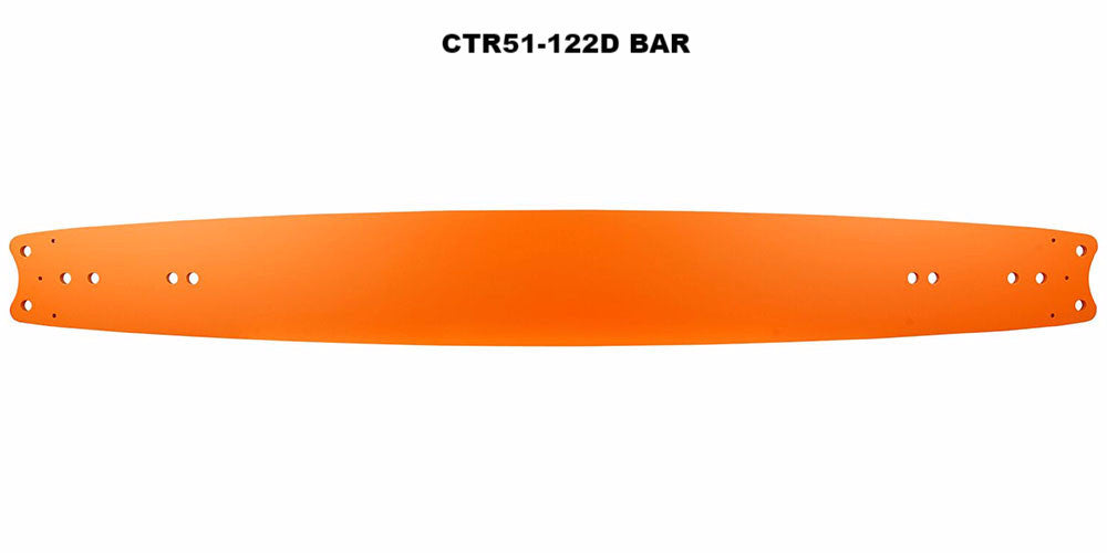 "¾"" GB® Titanium® Double Ender Bar CTR51-122D"