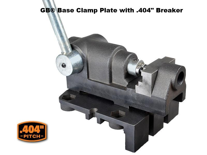 "GB® Base Clamp Plate with .404"" Breaker"