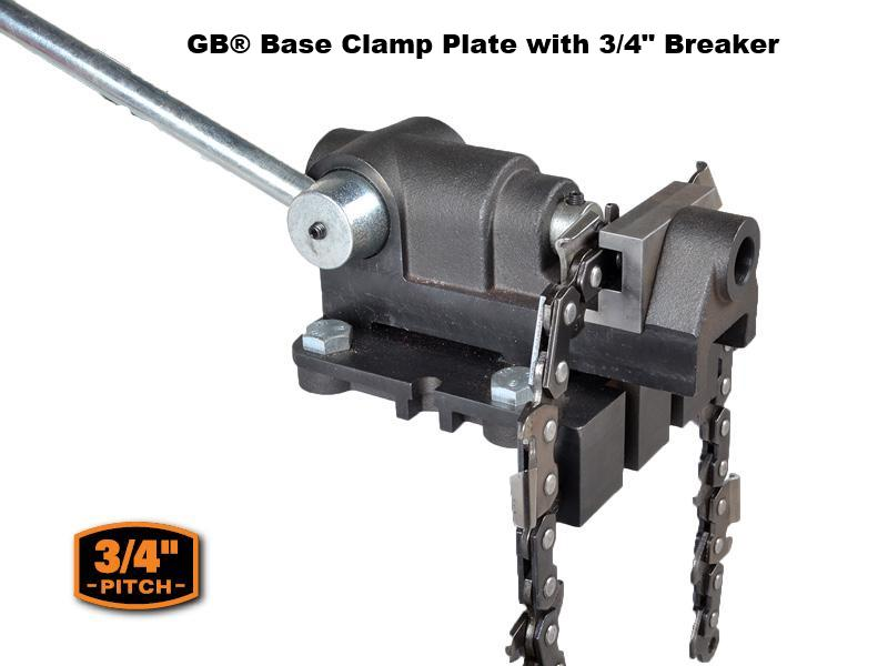 "GB® Base Clamp Plate with 3/4"" Breaker"
