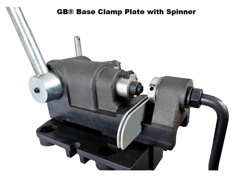 GB® Base Clamp Plate with Spinner
