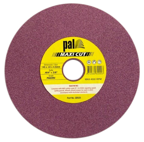 GB 3/8 & .404 Grinding Wheel (145mm x 22mm x 4.5mm)