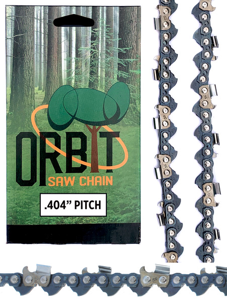 Orbit 404 Harvester Chain. 70 Driver