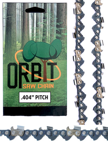 Orbit 404 Harvester Chain. 79 Driver