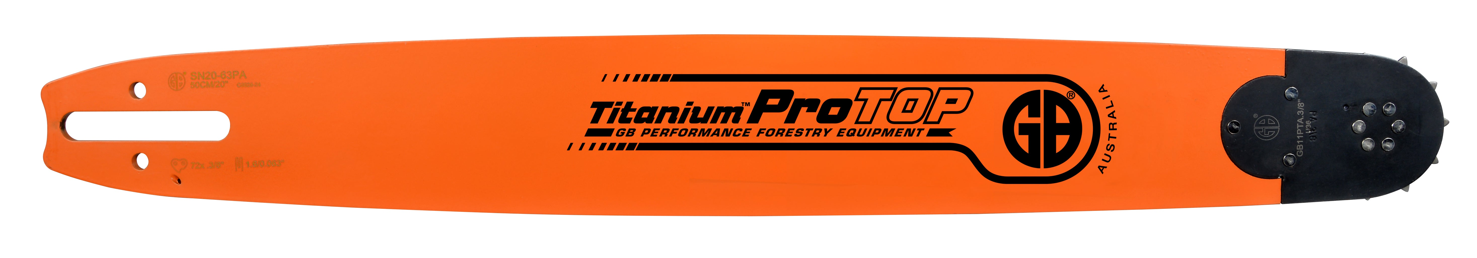 GB Titanium®ProTOP Chainsaw Bar SN20-50PA
