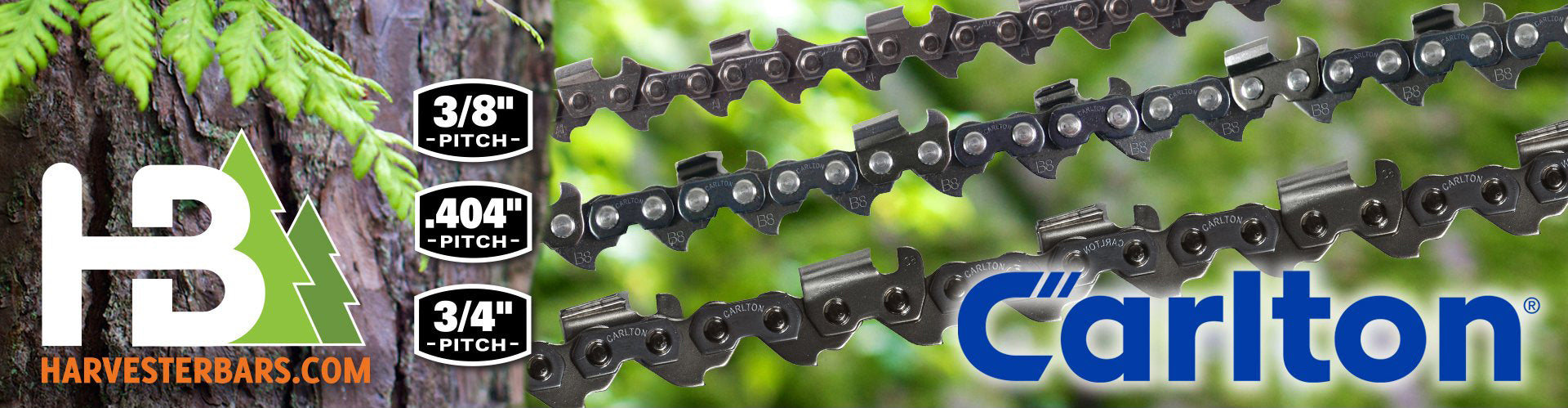 Carlton® harvester and chainsaw saw chain