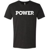 Power White Next Level Men's Tri-Blend Tee