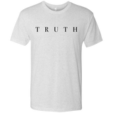 Truth Black Next Level Men's Tri-Blend Tee