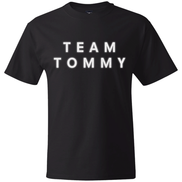 Team Tommy White Create Your Own Hanes Beefy T