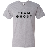 Team Ghost Black Men's Printed V-Neck T
