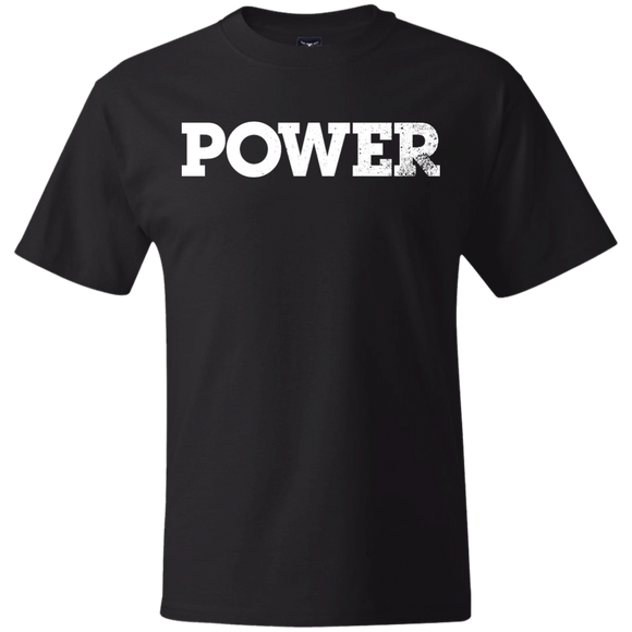 Power White Create Your Own Hanes Beefy T