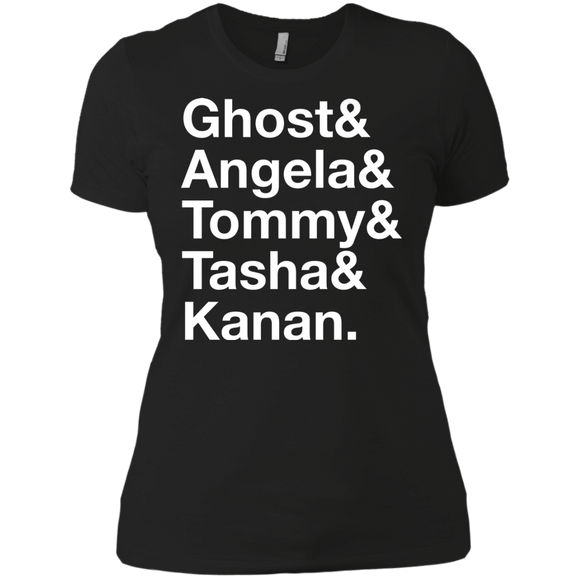 Names White Next Level Ladies' Boyfriend T-Shirt