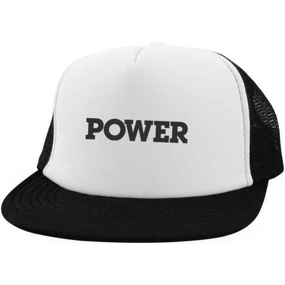 Power District Trucker Hat with Snapback