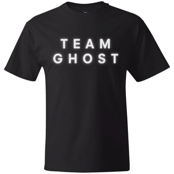 Team Ghost White Create Your Own Hanes Beefy T