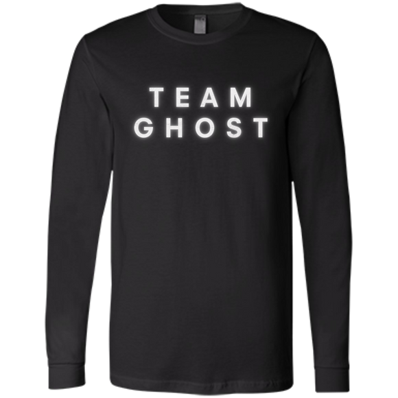 Team Ghost White Bella+Canvas Men's Jersey Long Sleeve