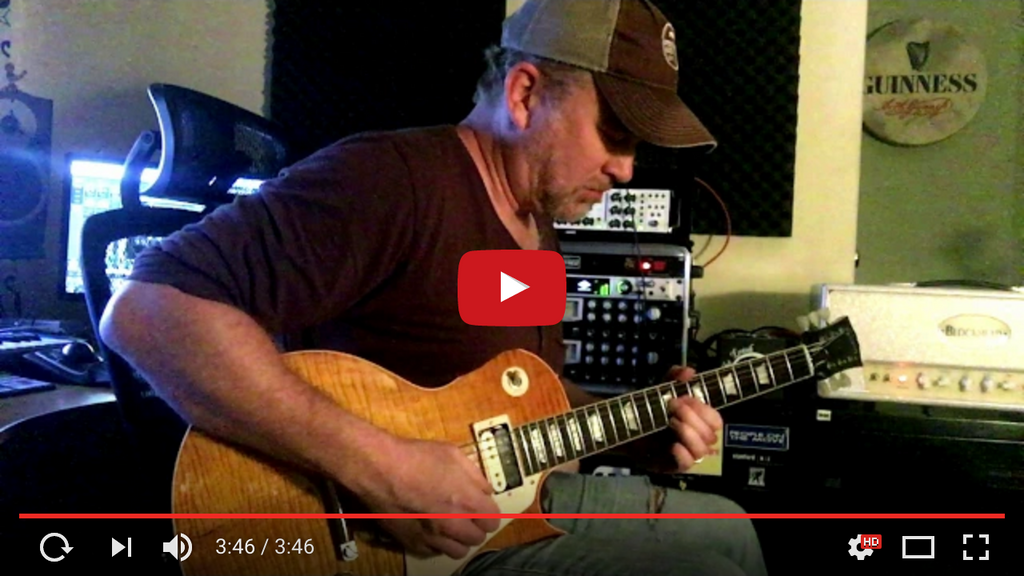 "Brian Kahanek Performing ""Southbound"" With His New Sheptone Pickups"