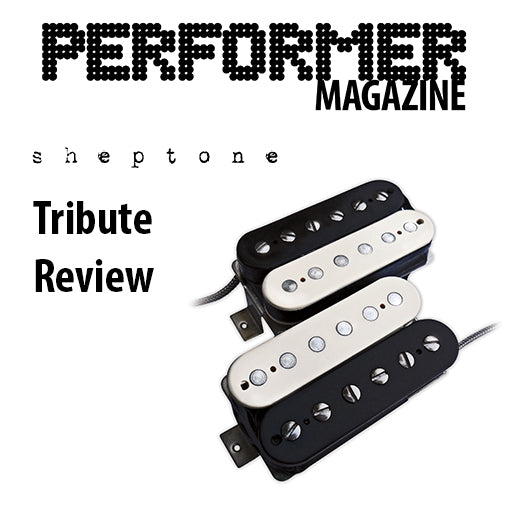 Expert Guitar Pickup Review from Performer Magazine